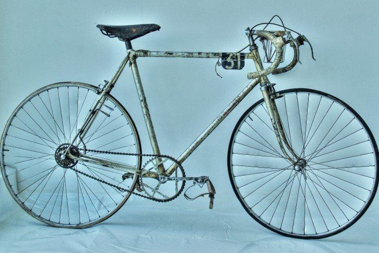 La mitica bicicletta del Tour del 1948