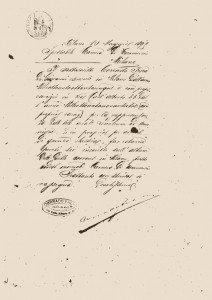 Dichiarazione di Corrado Frera, Archivio storico Camera di commercio Milano