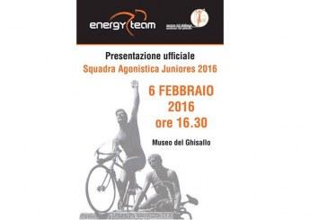 PRESENTAZIONE UFFICIALE DELLA SQUADRA AGONISTICA ENERGY TEAM JUNIORES 2016