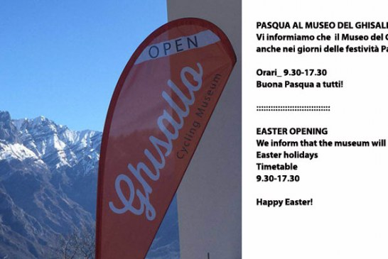 APERTURA PASQUALE / EASTER OPENING